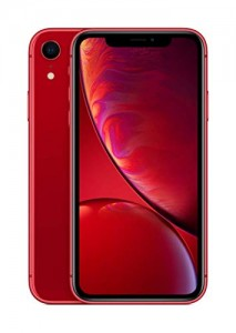iPhone XR 64 GB de color rojo y amarillo