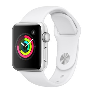 Apple Watch Series 3 GPS (Color blanco y negro)