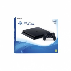 PS4 Slim 500GB + Fortnite + Auriculares BFX15
