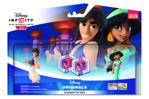 Pack Disney Infinity 2.0: Aladdín  y Jasmine Toy Box