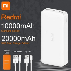 Power Bank de carga rápida Xiaomi 20000 mAh 18 W