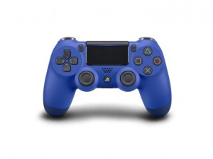 Mando inalámbrico PS4 Dual Shock 4 V2 Wave azul