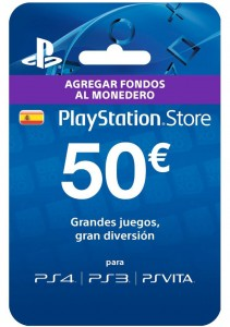50€ de Playstation Store por 37,80 euros!!