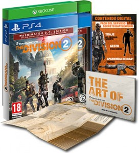 The Division 2 Washington DC Edition para PS4 y Xbox One por 14,95€