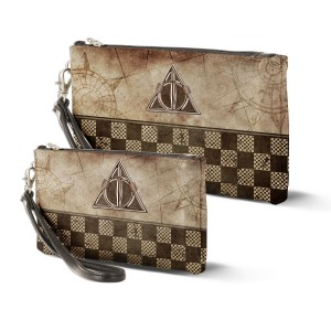 2 Bolsos de mano Harry Potter Relic Marrón