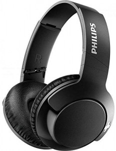 Philips BASS+ SHB3175BK – Auriculares inalambricos