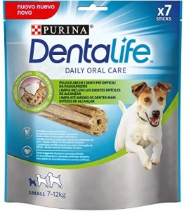 5 paquetes de 7 sticks de Purina Dentalife (35 sticks en total)