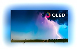 TV OLED Philips 65″ UHD 4K HDR Smart TV con Ambilight y Saphi