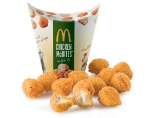 20 Chicken McBites en McDonald's por 1,50€