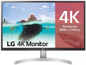 Monitor LG 27″ 4K UHD con Panel IPS