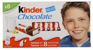 8 Barritas de Kinder Chocolate con Leche por 1€