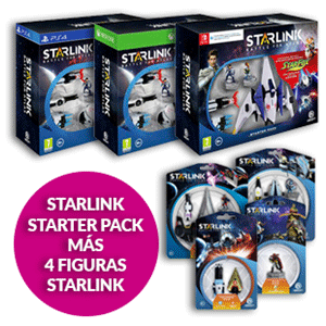 Starlink Starter Pack + 4 Figuras Starlink (Xbox One, PS4 y Nintendo Switch)