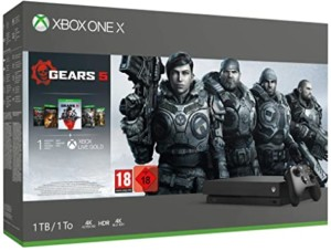 Microsoft Xbox One X, 1TB + Gears Of War 5