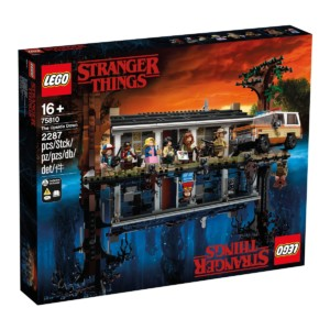 "Set LEGO de Strangers Things ""Mundo del revés"""