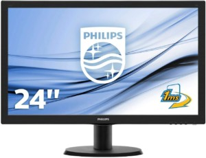 Monitor Philips de 24″ Full HD 1 ms