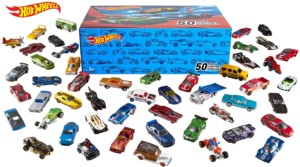 50 coches de juguete Hot Wheels