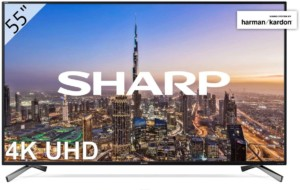 TV Sharp 55″ Ultra HD 4K Smart TV Sonido Harman Kardon