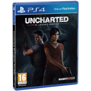 Uncharted: El Legado Perdido PS4 por 11,25€