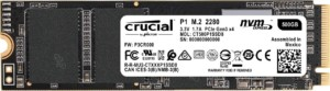 SSD NVMe PCIe Crucial P1 500GB 1900 MB/s