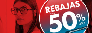 Rebajas hasta 50% en Opticalia