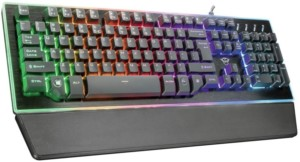 Trust Gaming GXT 860 Thura – Teclado Gaming LED semimecánico