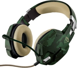 Auriculares Gaming Trust Gaming GXT 322C Verde Camuflaje