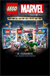 LEGO Marvel Collection (3 Juegos de Lego Marvel para Xbox One)