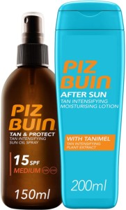 Piz Buin Aceite bronceador en Spray + After Sun