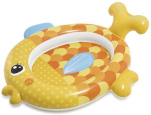 Piscina hinchable infantil – Intex Pez de 36 litros