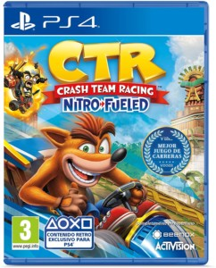 Crash Team Racing Nitro Fueled para PS4
