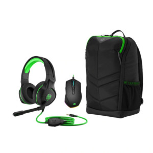 Pack HP Pavilion Gaming (auriculares + mochila + ratón)