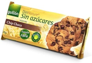 Gullón Diet Nature – Galletas Chip Choco – 125 gr