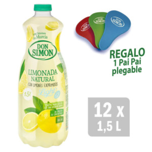 Packs de limonada y naranjada Don Simon + Regalos