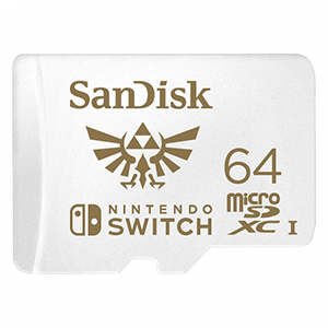 Micro SD Sandisk 64GB Nintendo Switch Zelda