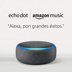 Echo Dot por 9,99€ + 1 Mes de Amazon Music Unlimited