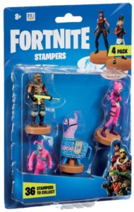 Set de 4 figuras de Fortnite de 8 cm