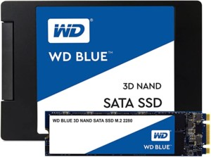 Disco duro SSD 500GB WD Blue 3D NAND