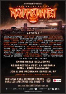 Resurrection Fest 2020 Online – Festival virtual de heavy metal