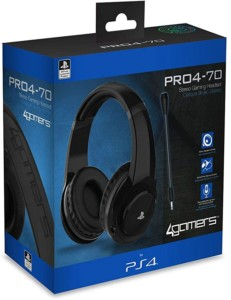 Auriculares gaming 4Gamers PRO4-70 para PS4