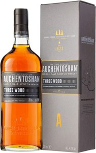 Whisky Escocés Auchentoshan Three Wood de 12 años – 700 ml