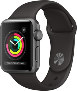Apple Watch Series 3 con GPS 38 mm con caja