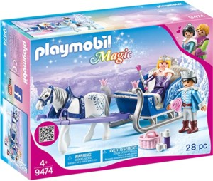 Playmobil Magic – Trineo con Pareja Real Set Juguetes