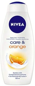 Nivea gel de ducha Care & Orange – Pack de 12 x 750 ml