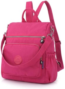 Bolso Wellcce impermeable de color rosa para mujer