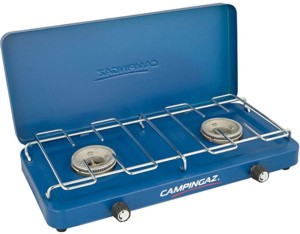 Camingaz Base Camp Lid hornillo de gas de 2 placas