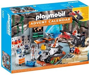 Calendario de Adviento Playmobil + pilas incluidas