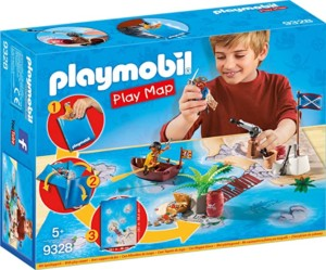 Playmobil Play Map Piratas del Caribe