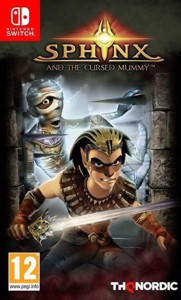 Sphinx and the Cursed Mummy Nintendo Switch