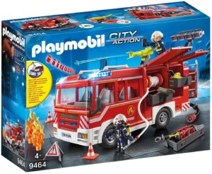 Playmobil City Action Camión de bomberos con luces y sonidos