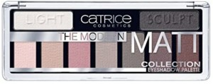 Catrice The Modern Matt Collection Paleta de sombras de Ojos